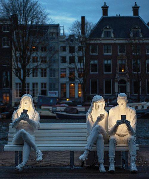 Absorbed by Light , Design Bridge, 2018 Amsterdam Light Festival