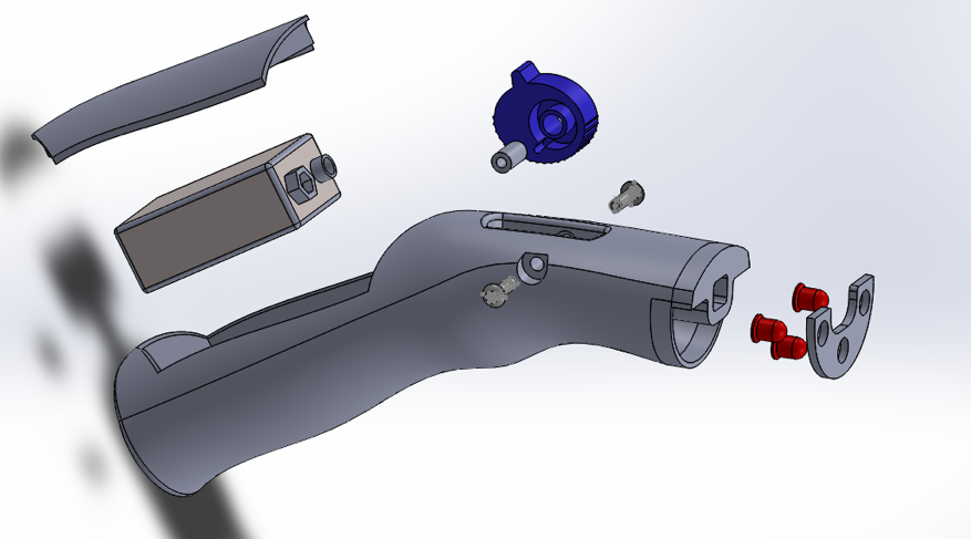 Final Prototype: Exploded CAD Model