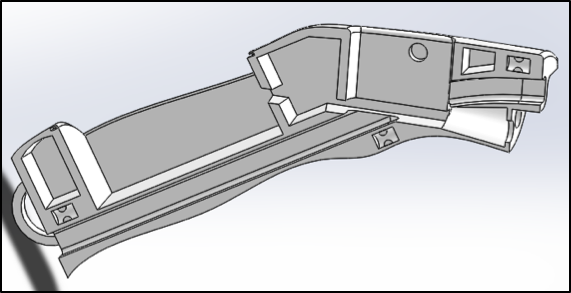 Handle: Injection Molded