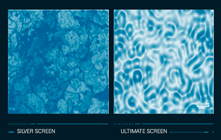 Ultimate Screen: Engineered Surface