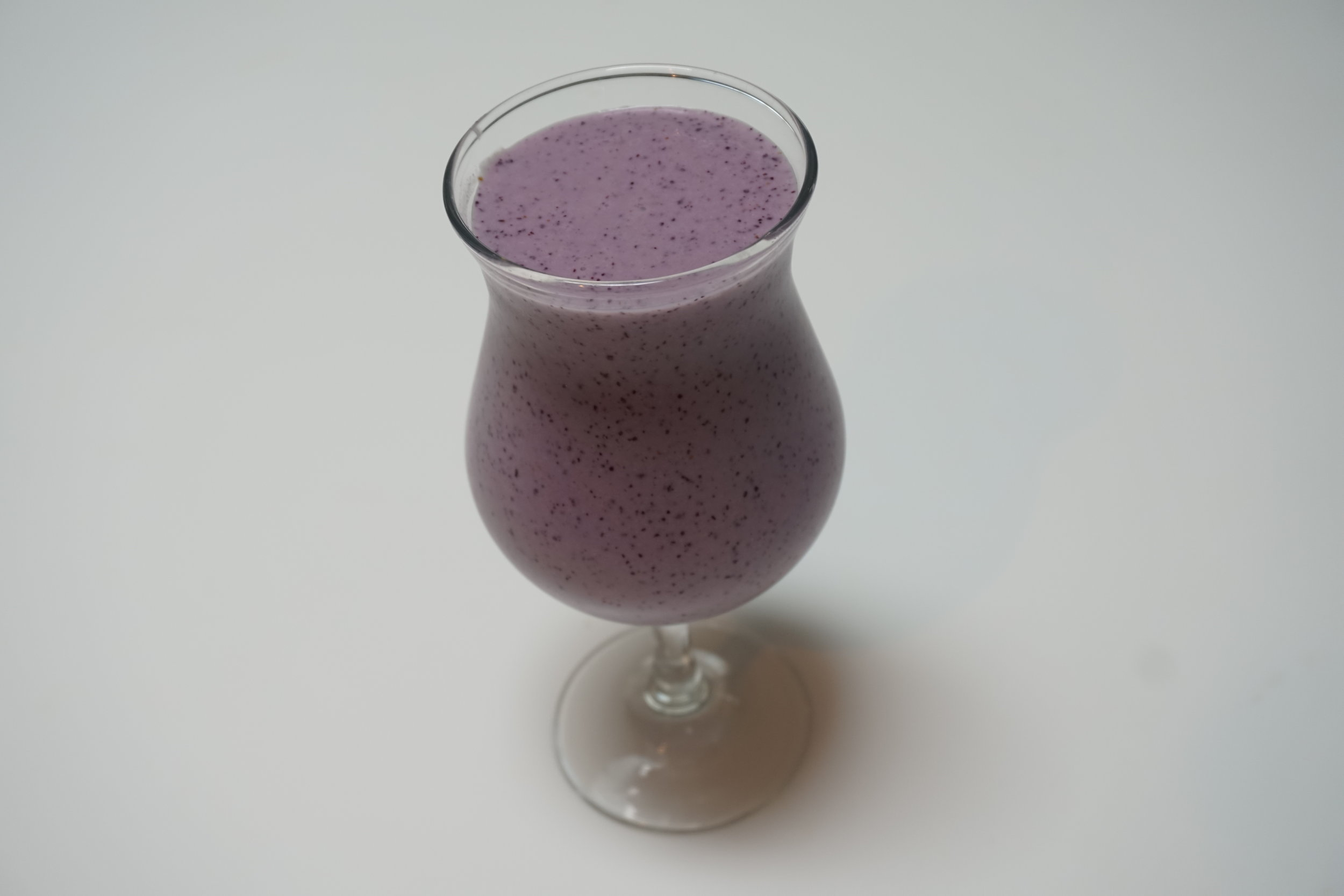 Blueberry & Banana Coconut Smoothie