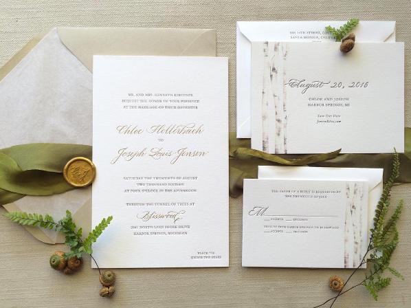 Suite Design: Brenna Berger Paper & Ink  Spot Calligraphy: Joi Hunt