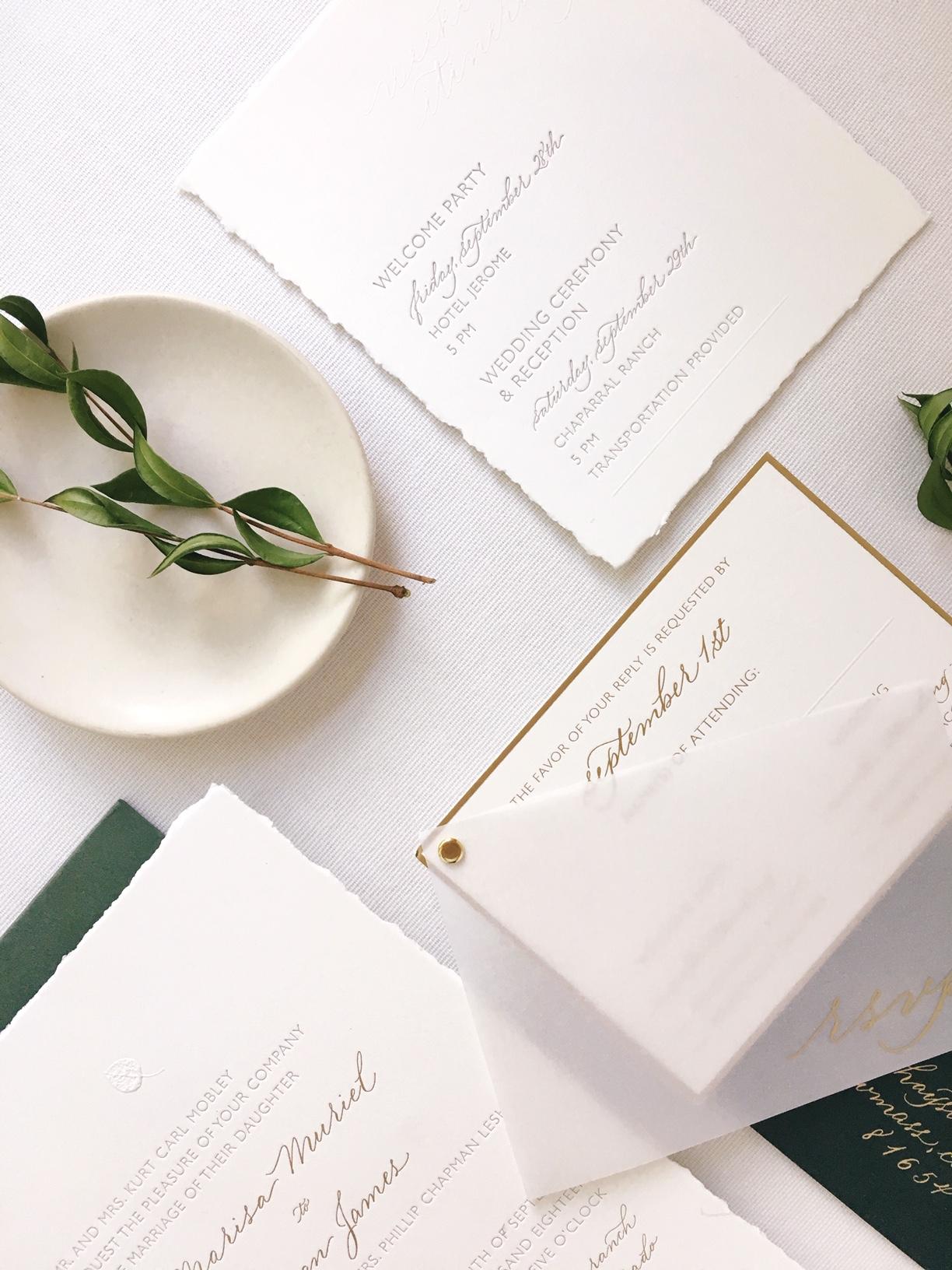Suite Design: Poste & Co.  Spot Calligraphy: Joi Hunt