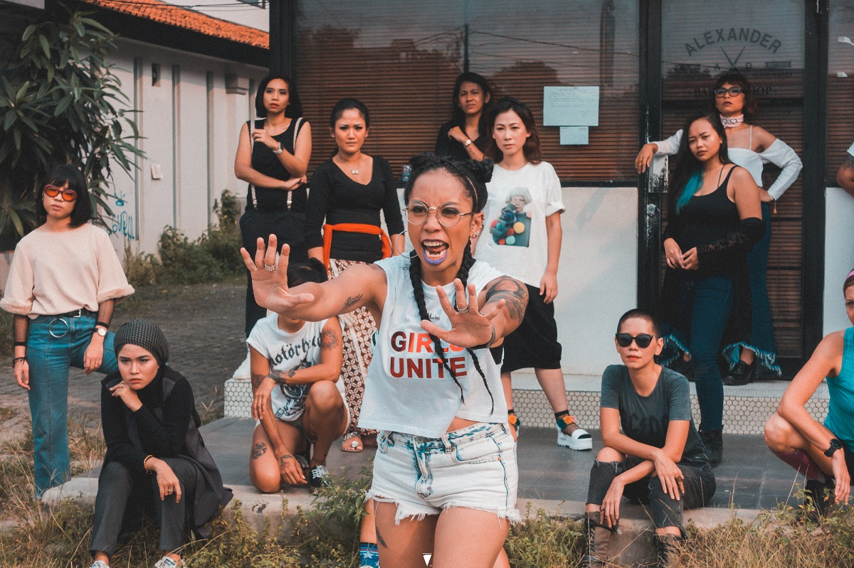 Yacko Indonesian Female Rapper Fights Street Harassment with Hands Off 04.jpg