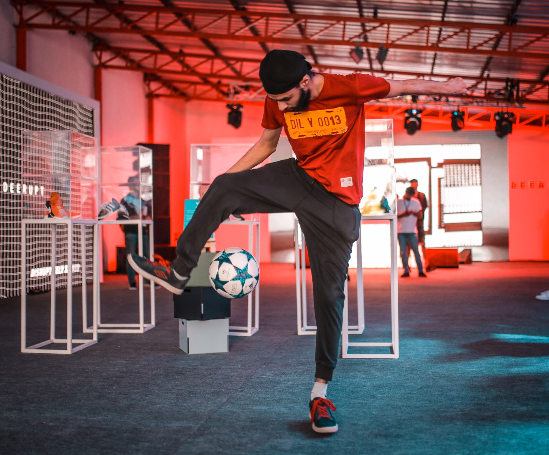Homegrown India presents HGStreet in Mumbai on March 18, 2018, a celebration of sneaker and street culture - launch of adidas Deerupt by adidas Originals at the Deerupt Experience976A5627.jpg