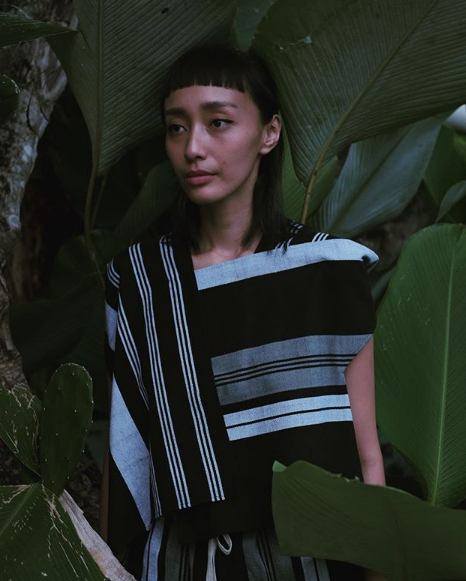 indonesian fashion designer lulu lutfi labibi creates modern design from traditonal javanese fabric of lurik - 01.png