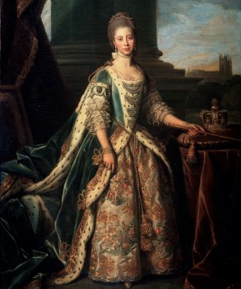 The First Black Royal,Queen Charlotte of Mecklenburg-Strelitz. || Image c/o FINE ART IMAGES/HERITAGE IMAGES/GETTY IMAGES