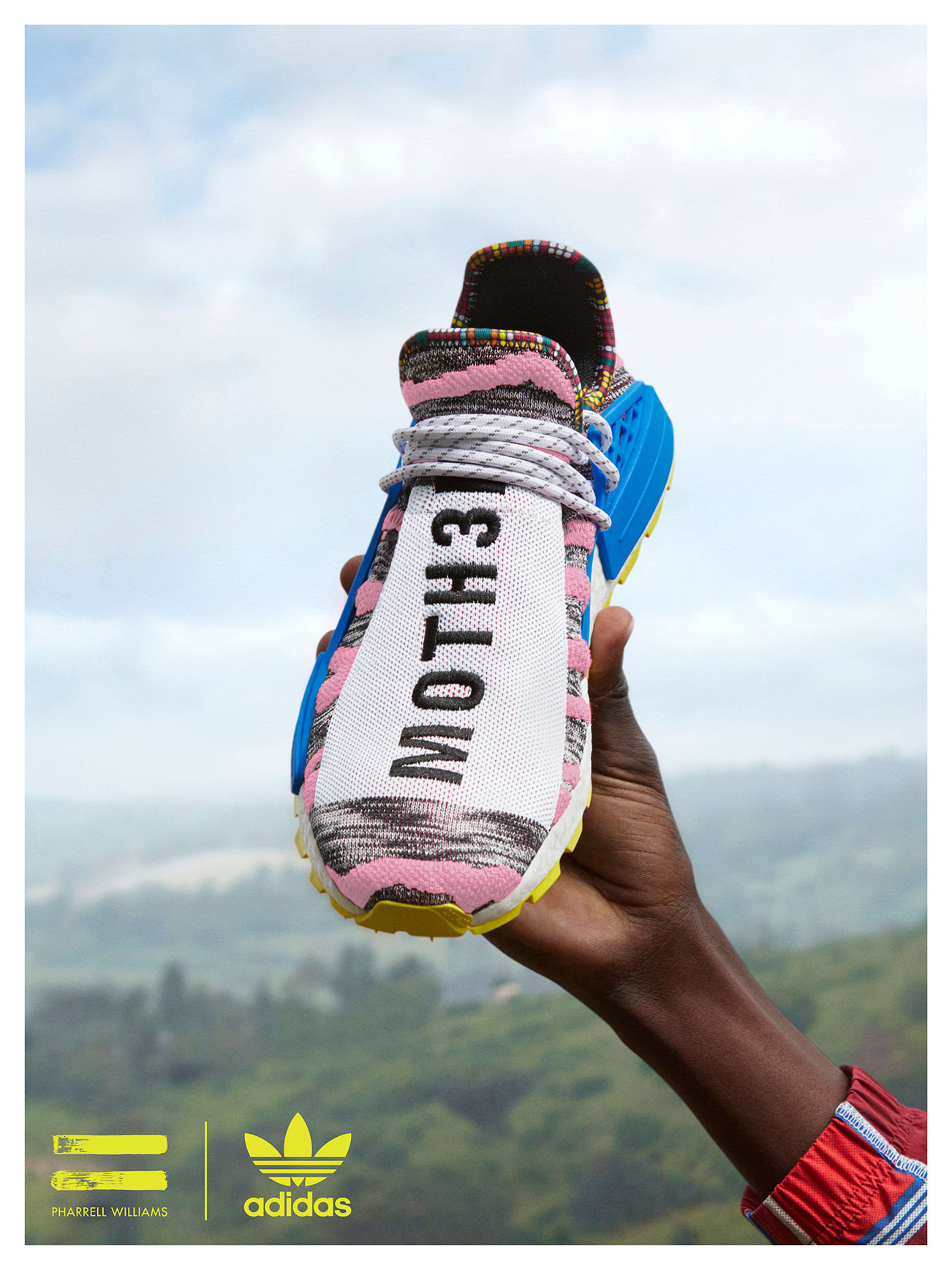 Pharrell & adidas Originals Look to Asia and East Africa for