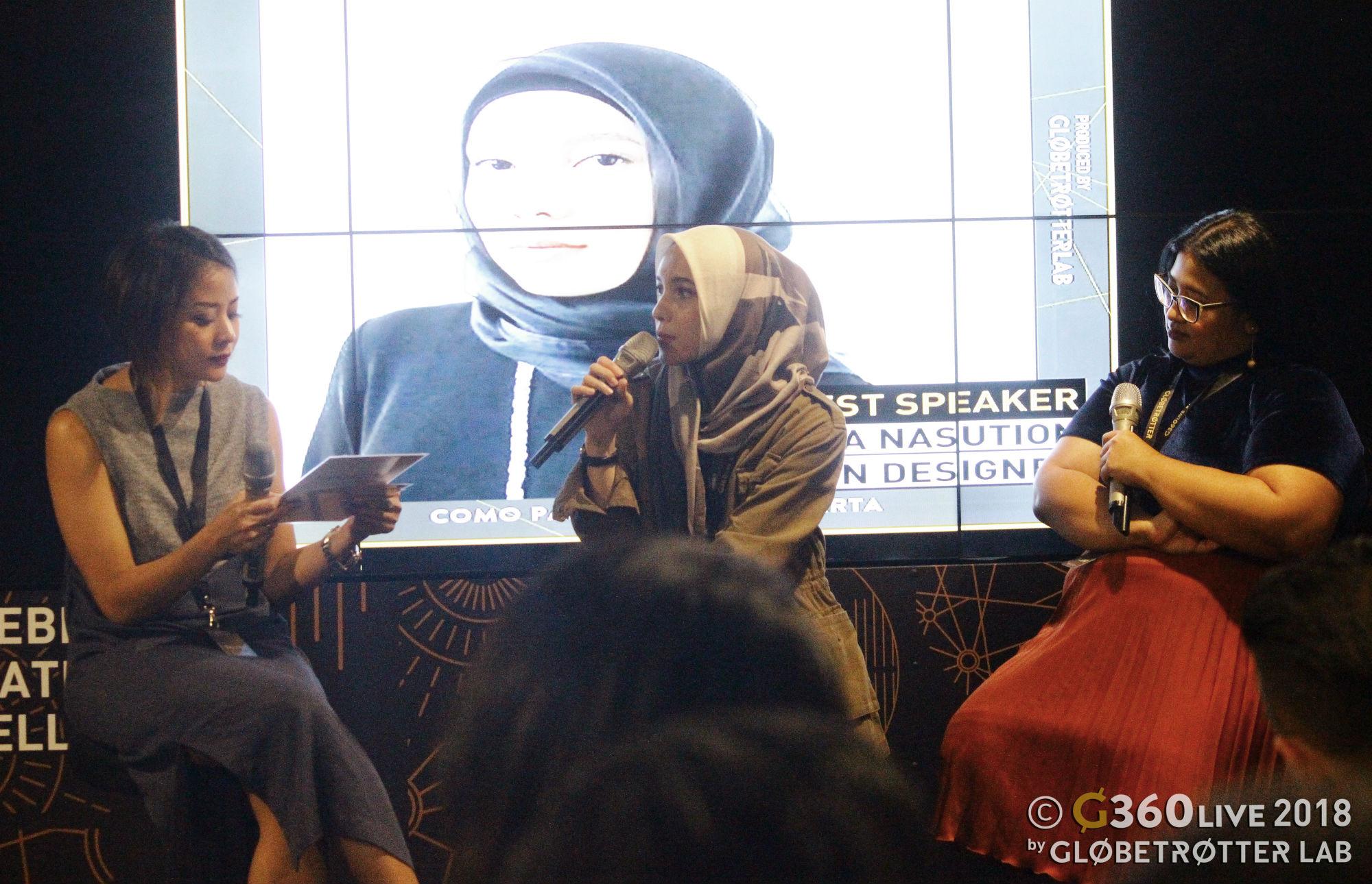 Aliya Amitra, Jenahara Nasution & Ucita Pohan