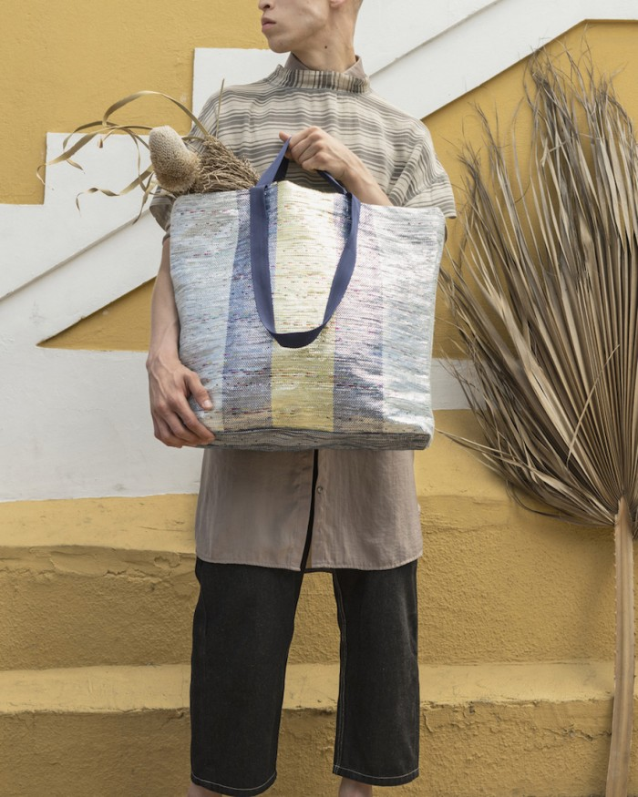 design indaba x ikea ÖVERALLT 10 african creatives - sustainable tote bag by mariam hazem and hend riad of reform studio.jpg