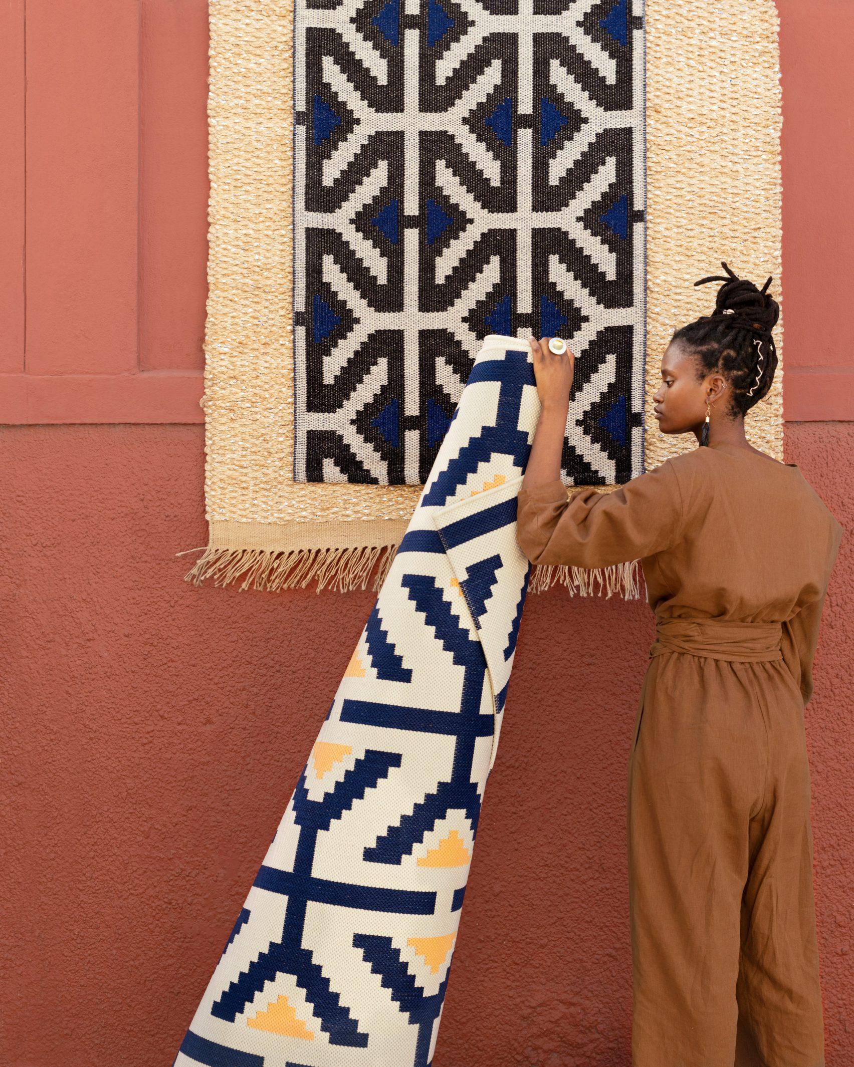 design indaba x ikea ÖVERALLT 10 african creatives - rug by ladumangxokolo.jpg