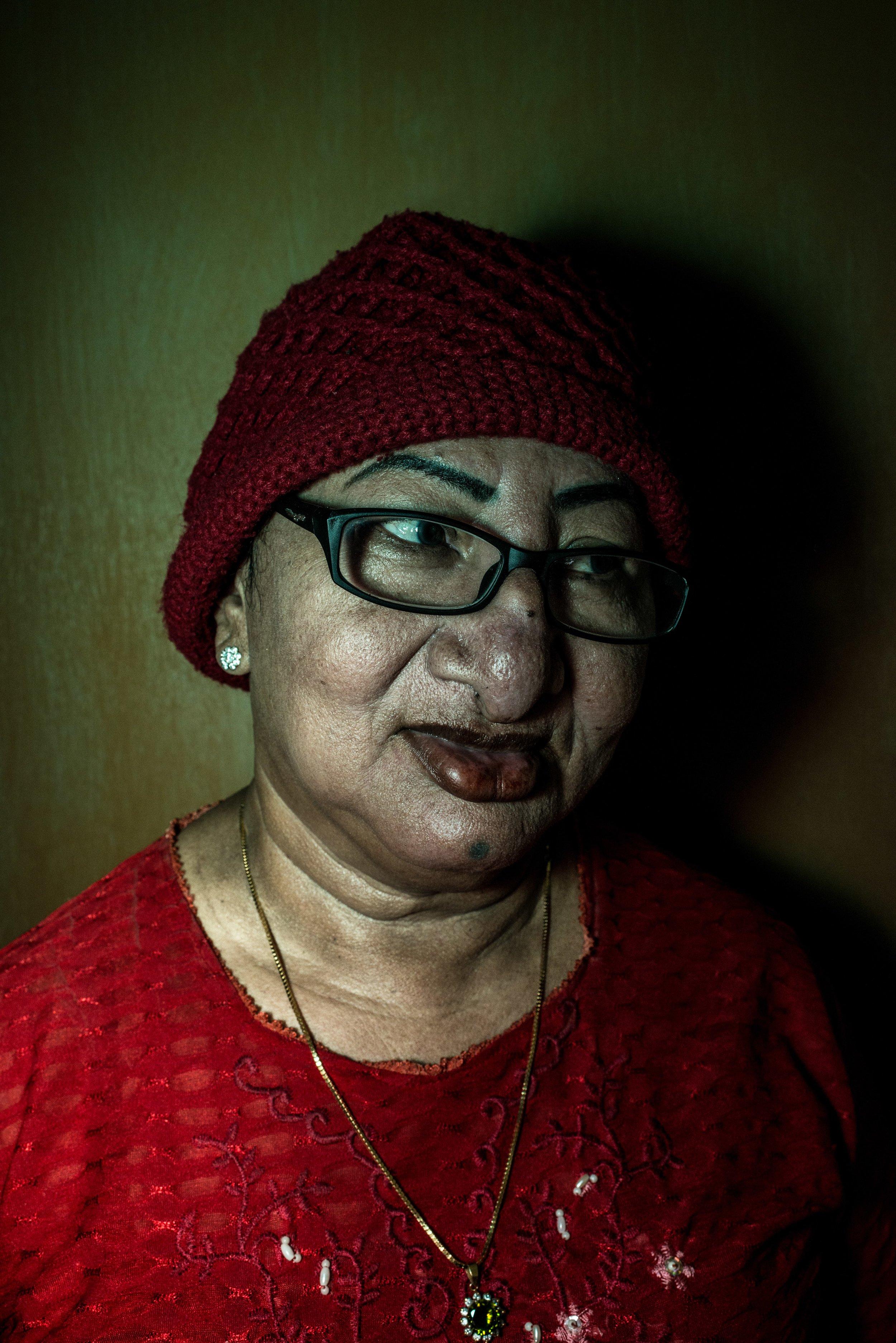 Sri, 80 years old. Jakarta, 2013.