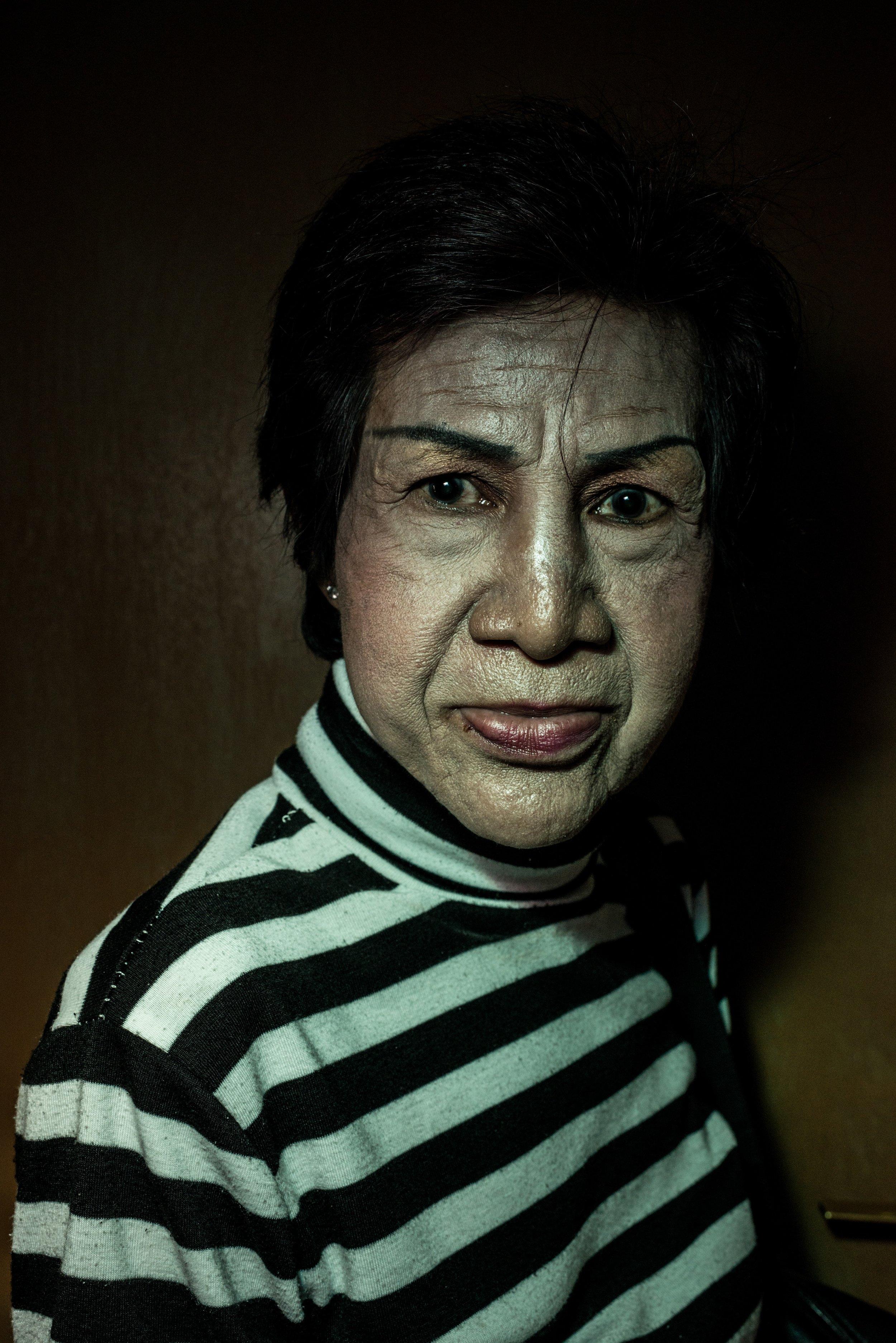 Endang, 64 years old. Jakarta, 2013.