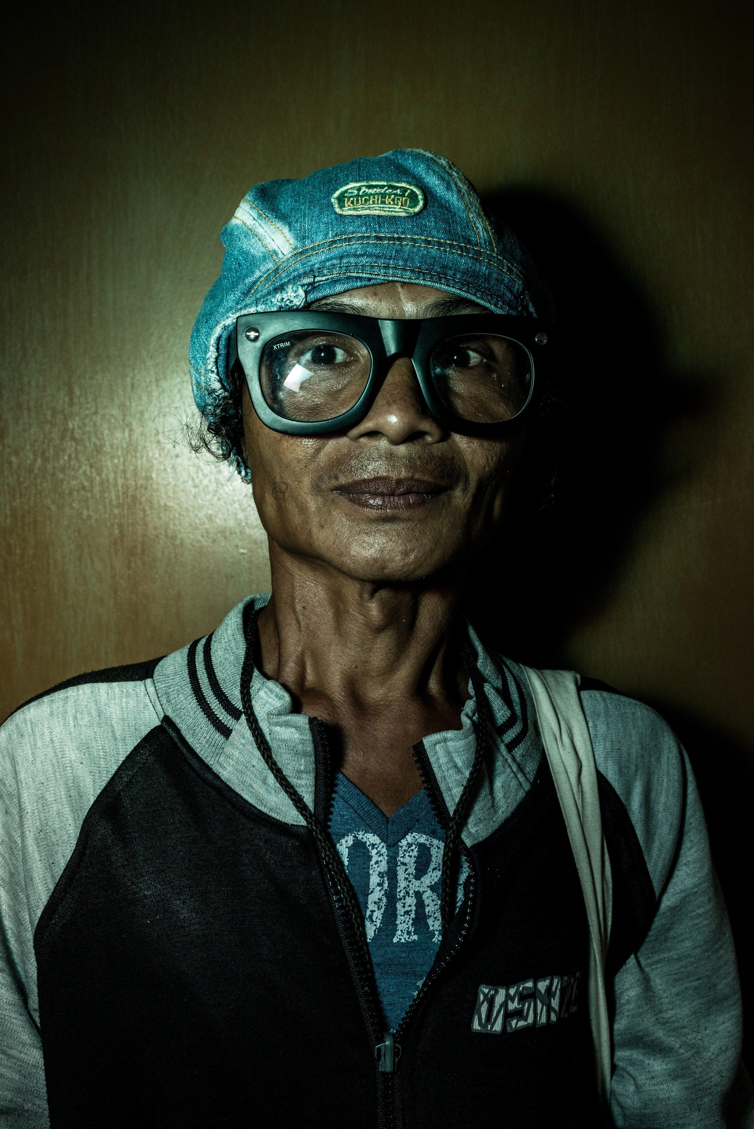 Yanthi, 71 years old. Jakarta, 2013.