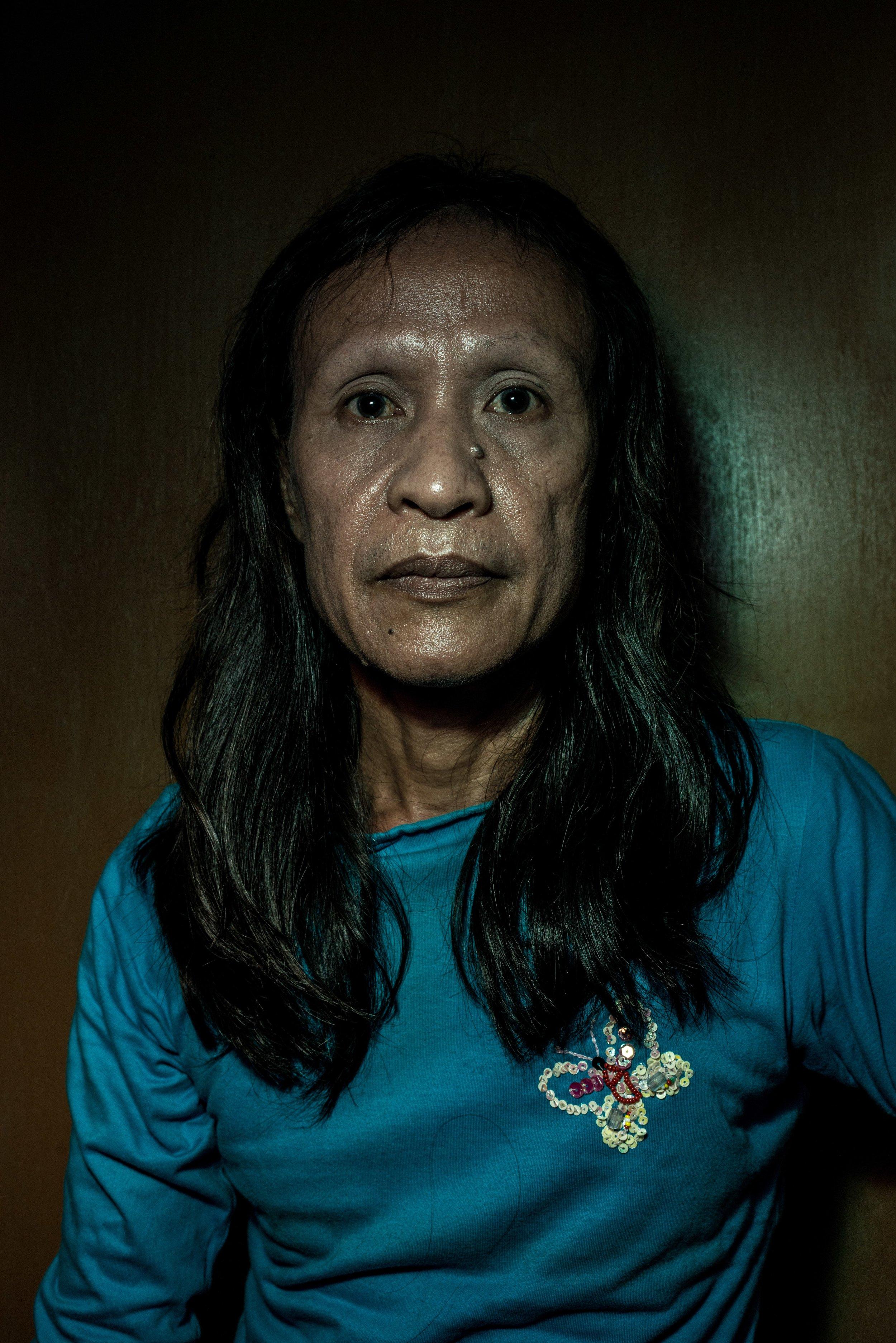 Susan, 67 years old. Jakarta, 2013.