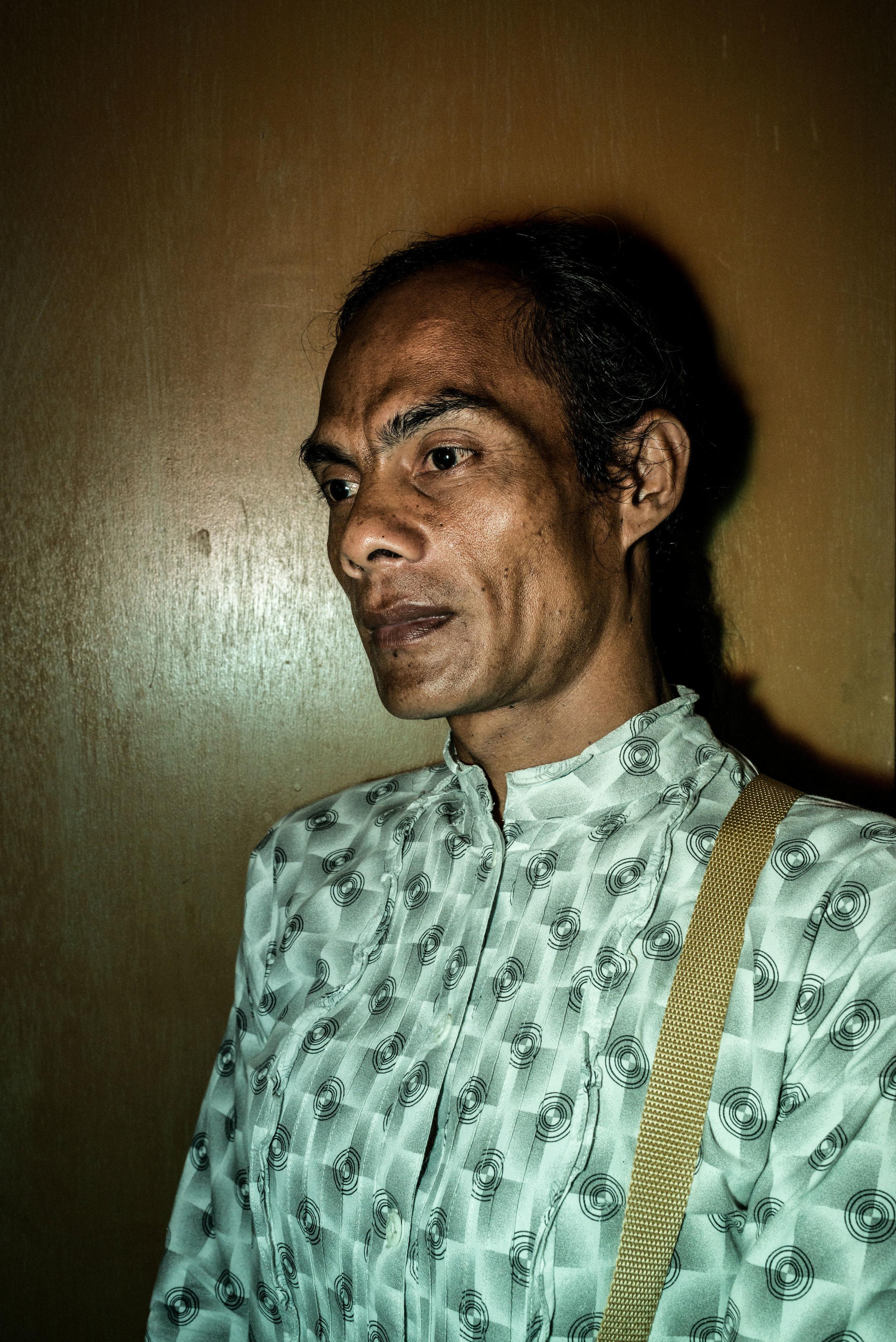 Mira, 66 years old. Jakarta, 2013.