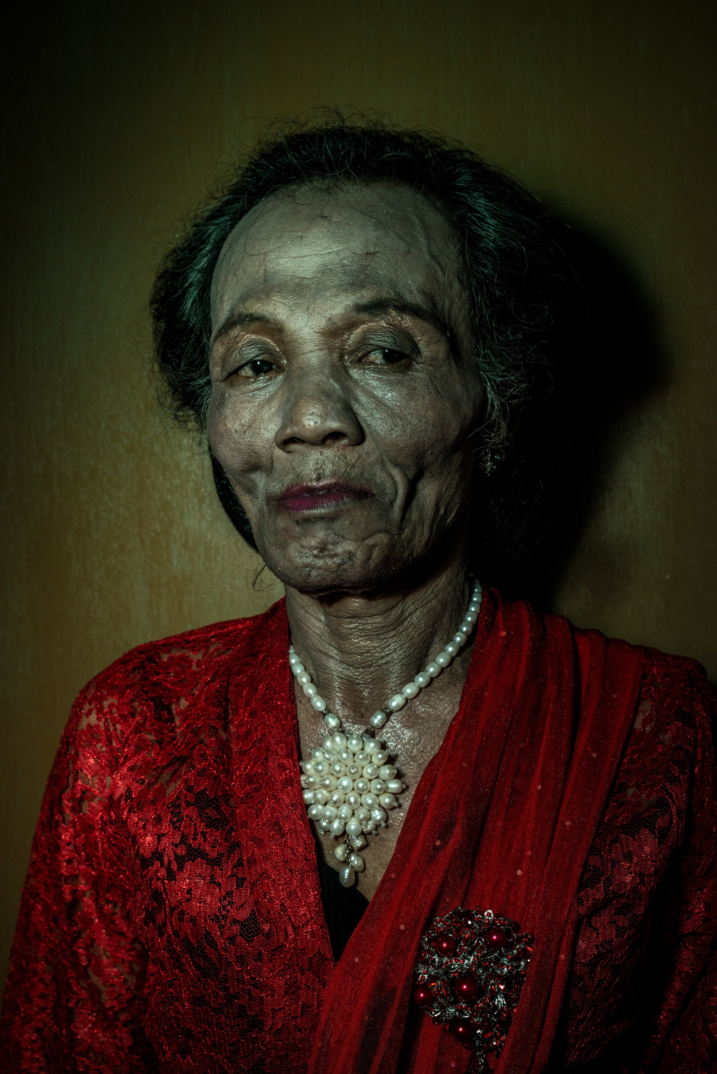 Vera, 65 years old. Jakarta, 2013.
