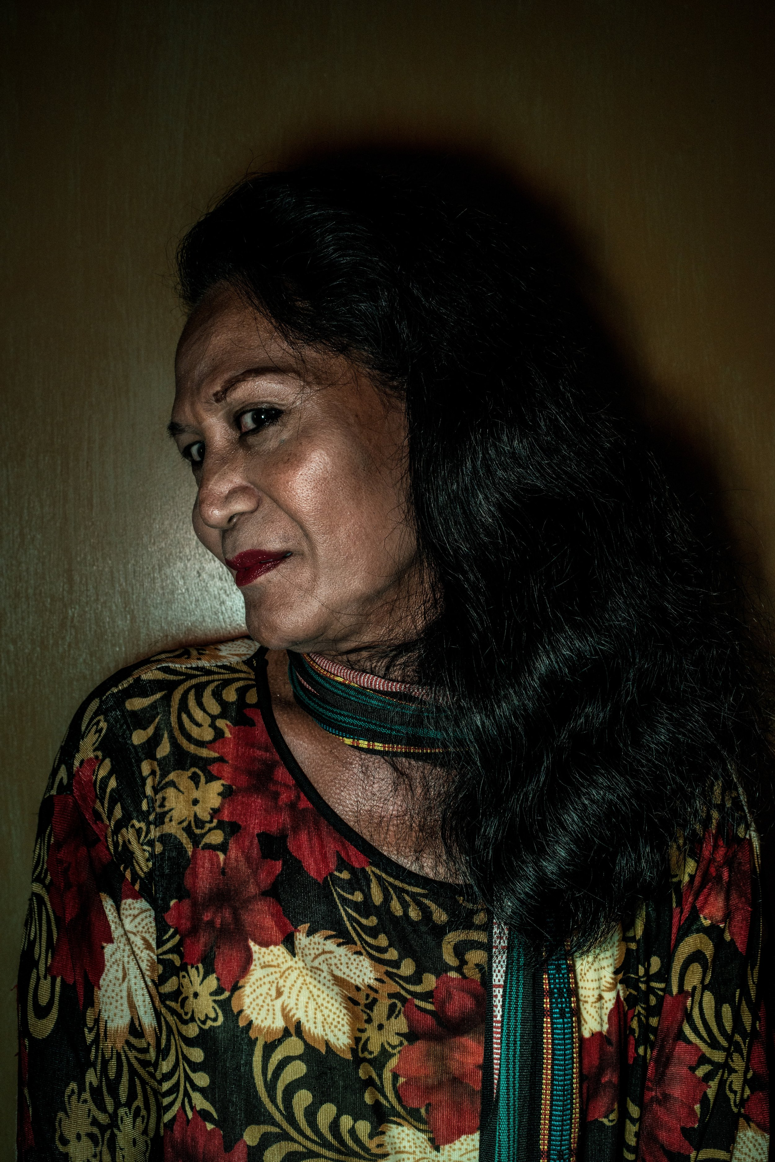 Rosa, 79 years old. Jakarta, 2013.