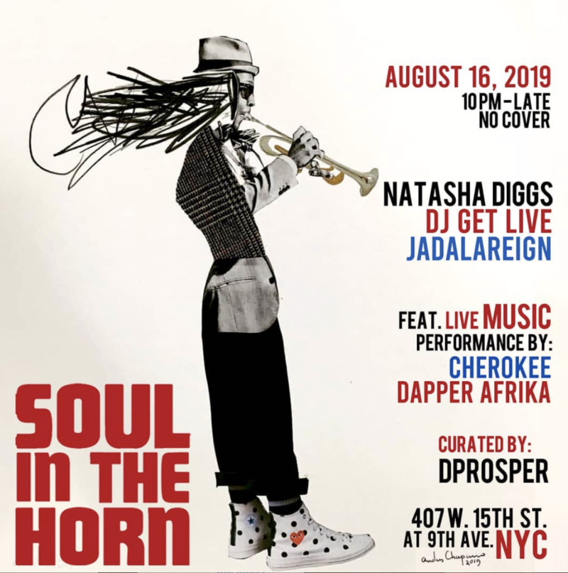 16 august 2019; soul in the horn with natasha diggs and dprosper; new york, usa; globetrotter magazine.png