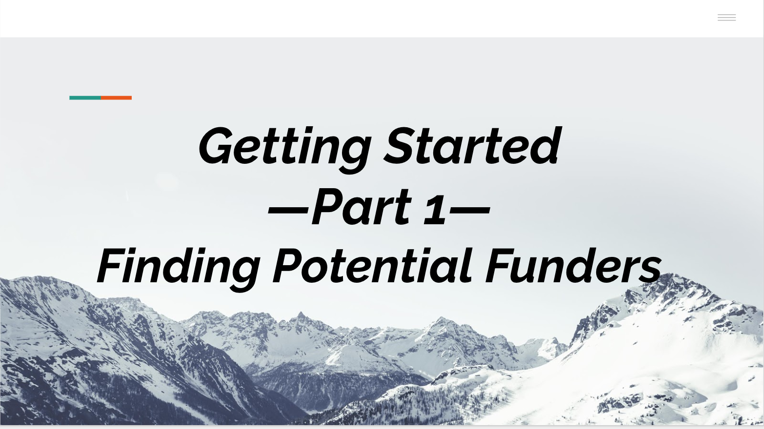 Part I: Getting Started
