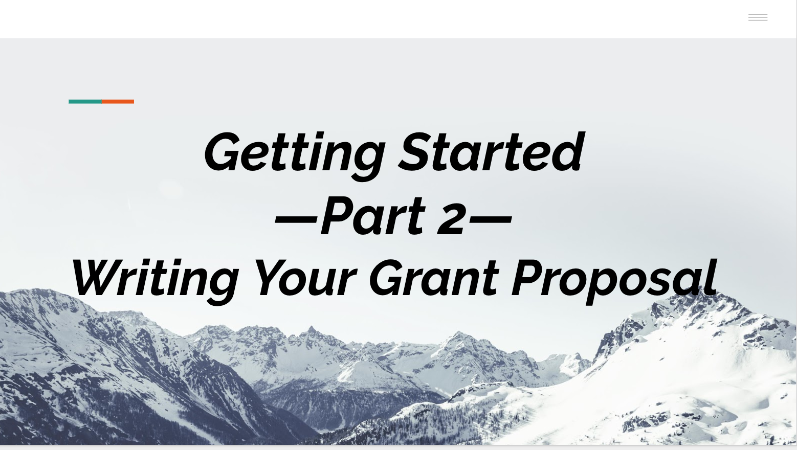 Part II: Getting Started