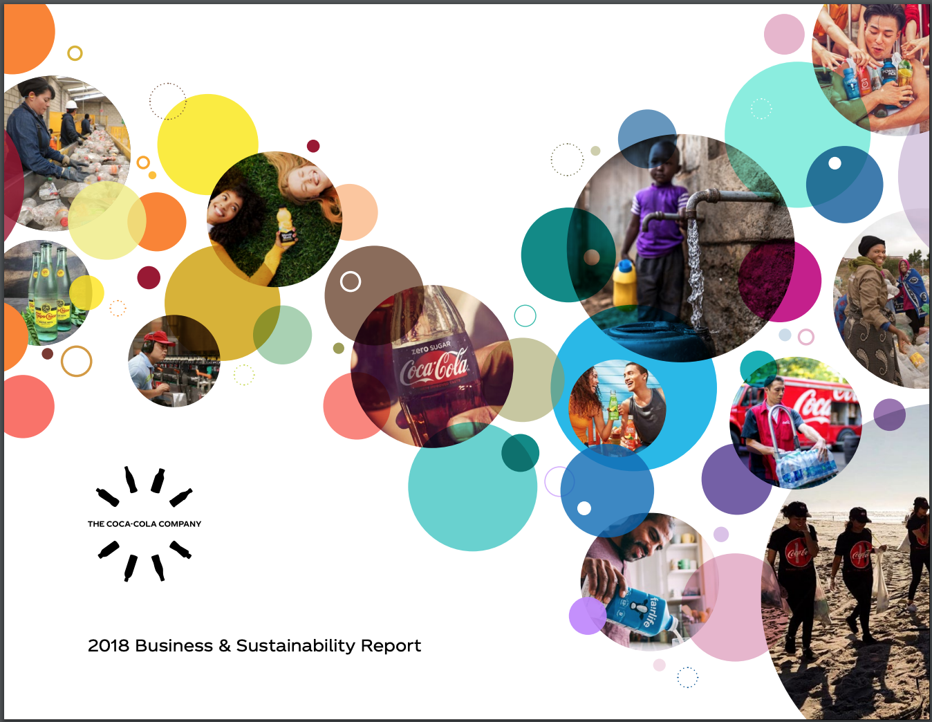 Coca-Cola's 2018 Business and Sustainability Report