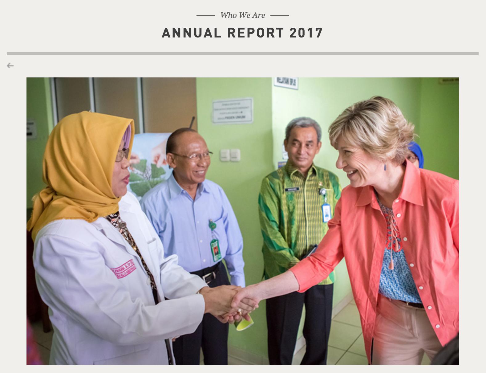 Bill & Melinda Gates Foundation 2017 Annual Report