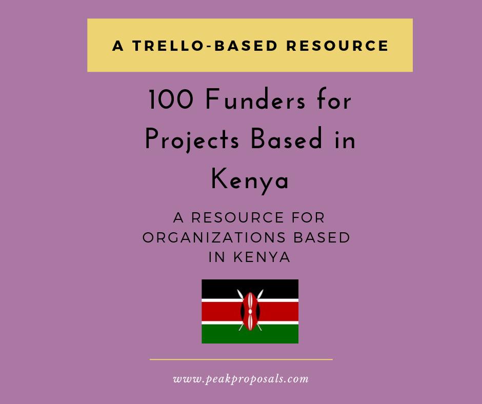 Kenya Trello Board