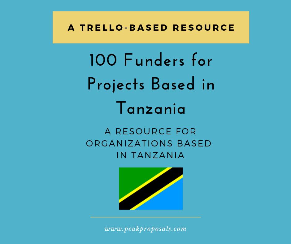 Tanzania Trello Board