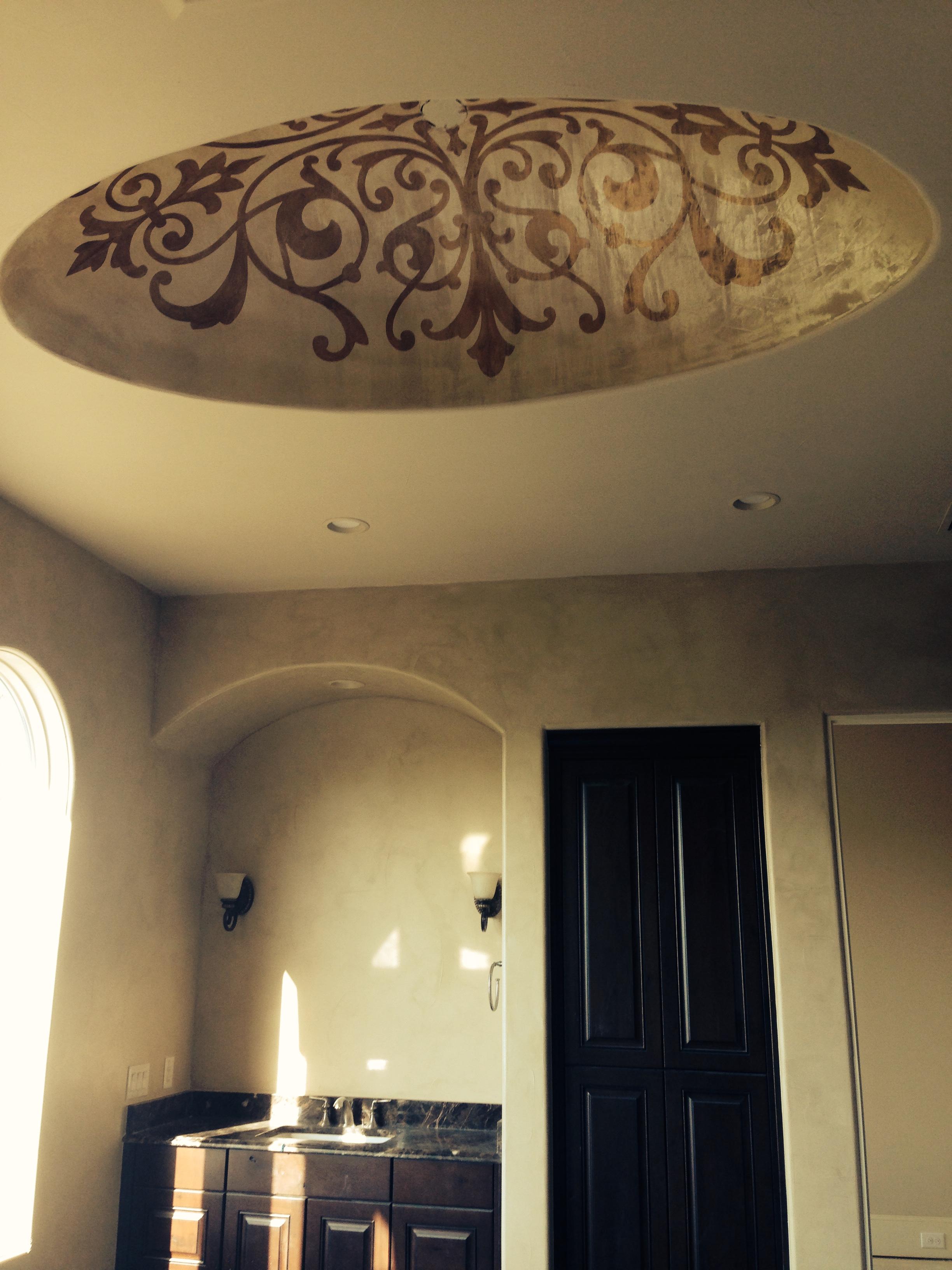 Damask Bedroom:one wall.JPG