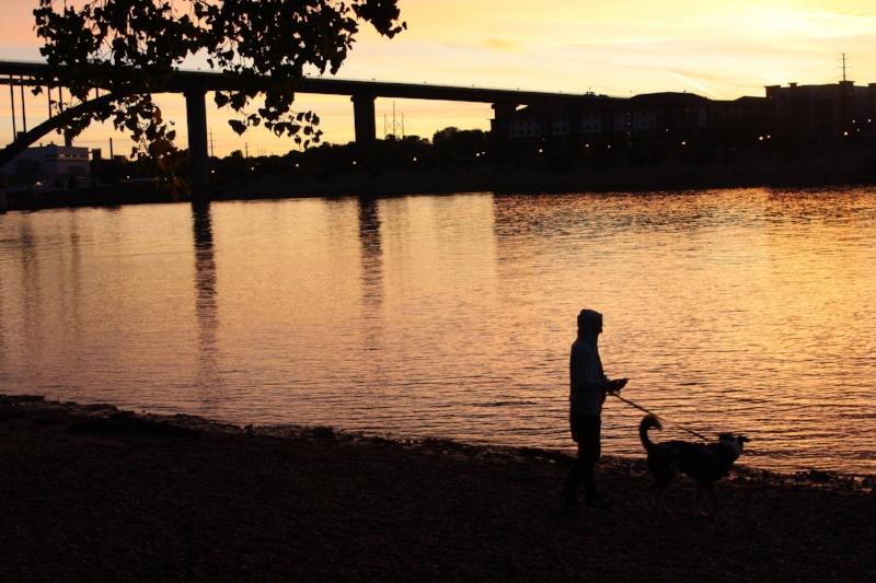 Noah and Finner in the sunset.jpg