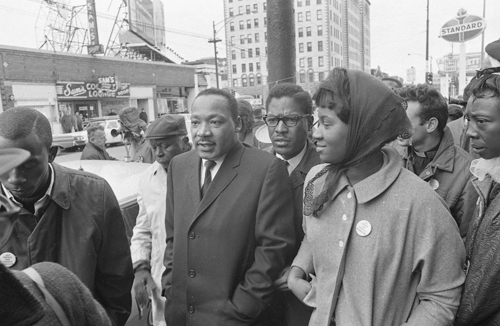 Dr. King in East Garfield Park, 1966