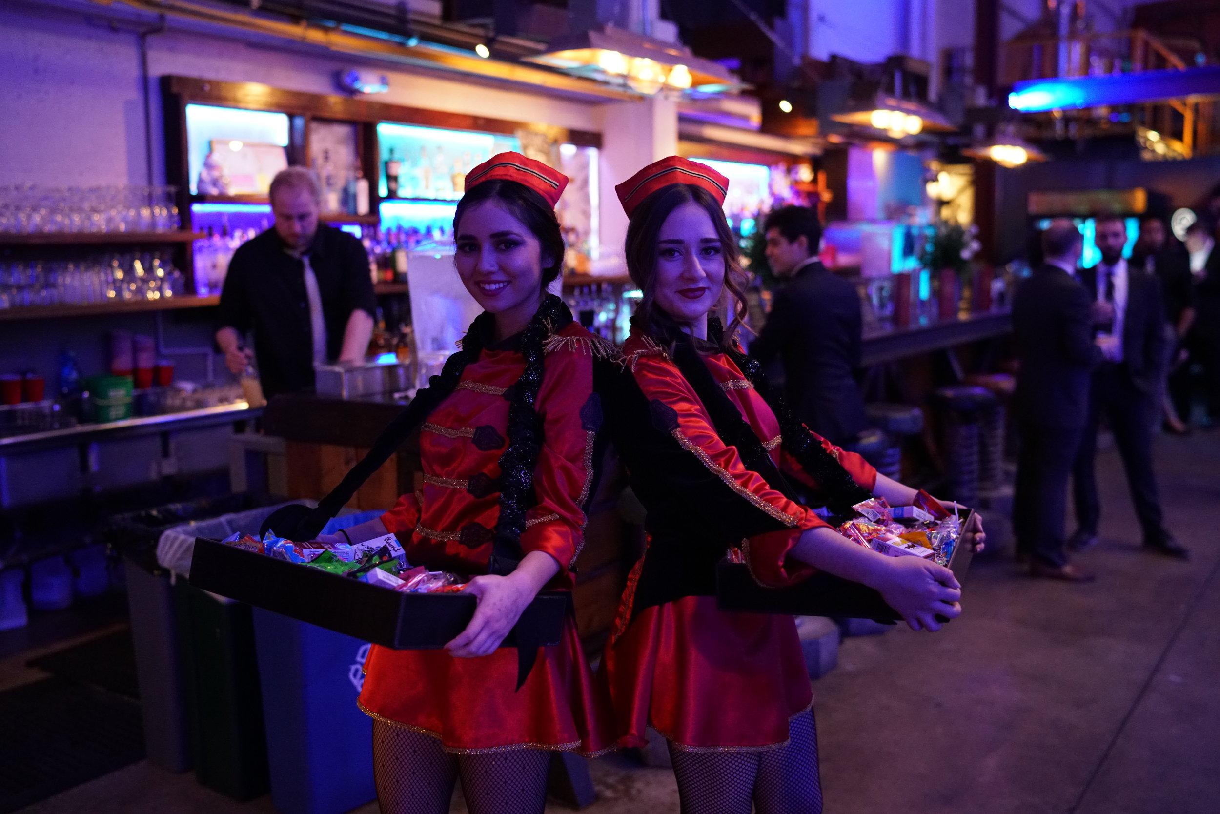 waiter chicks in red.jpg