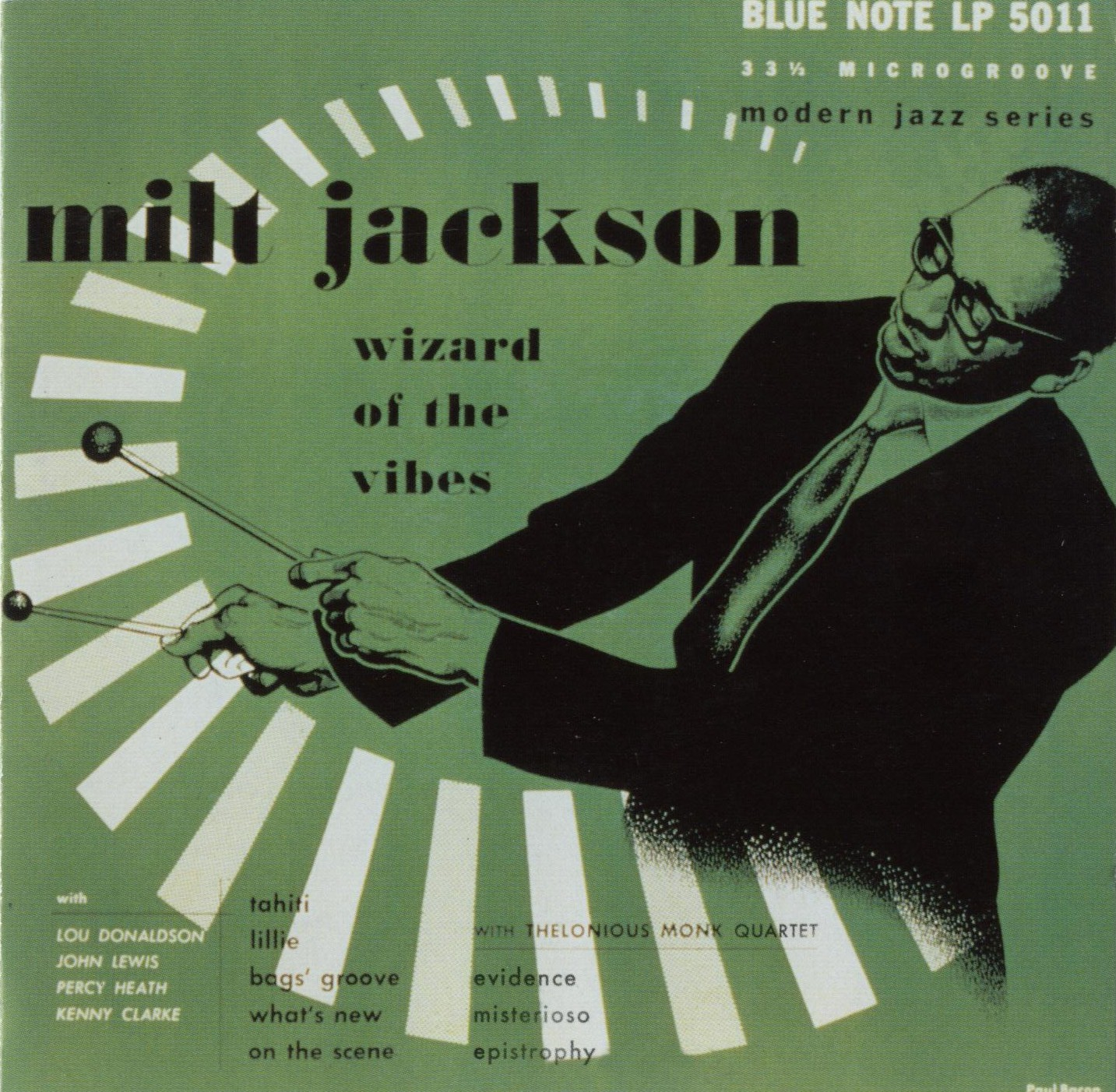 Wizard of the Vibes , Milt Jackson, 1952