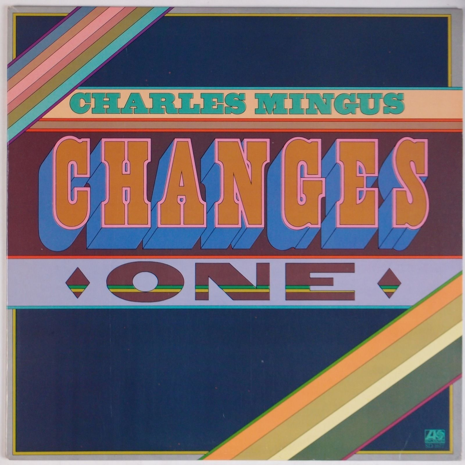 Paula Scher's design for Charles Mingus,  Changes One , 1975
