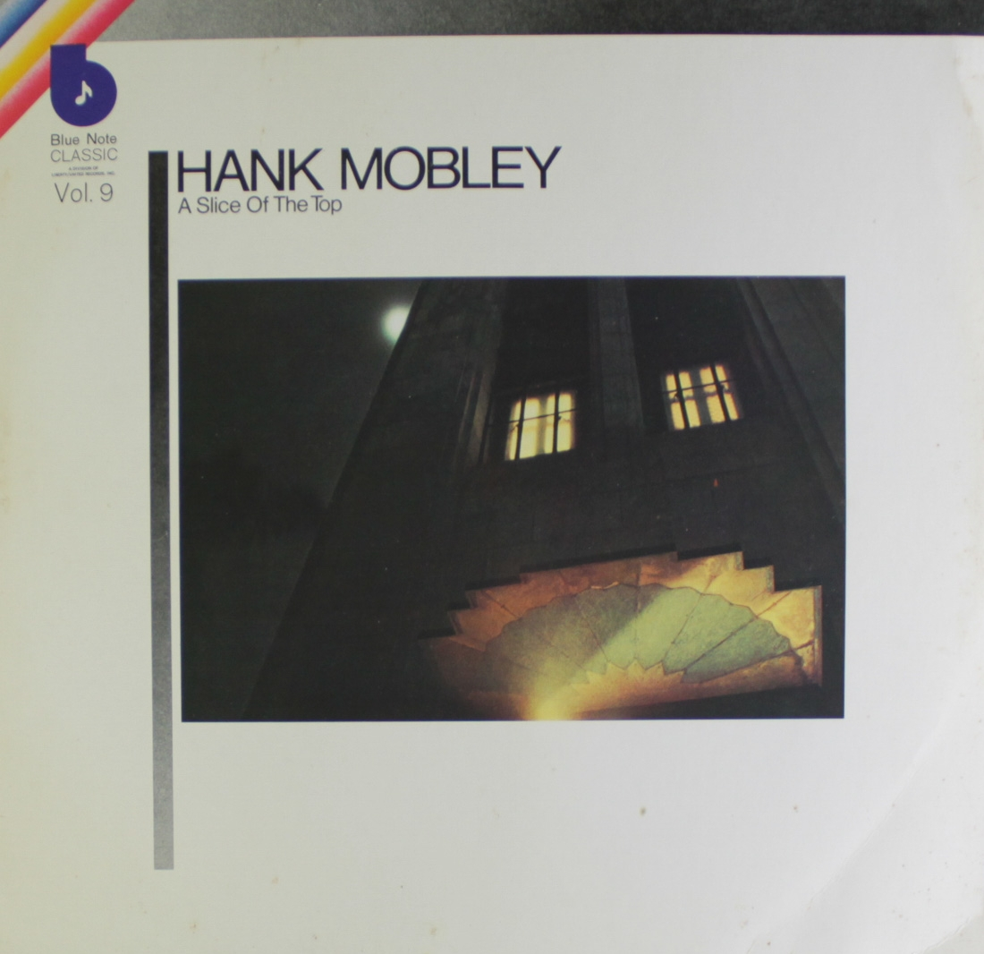 Griffith's design for Hank Mobley's  Slice of the Top  (Blue Note LT-995)