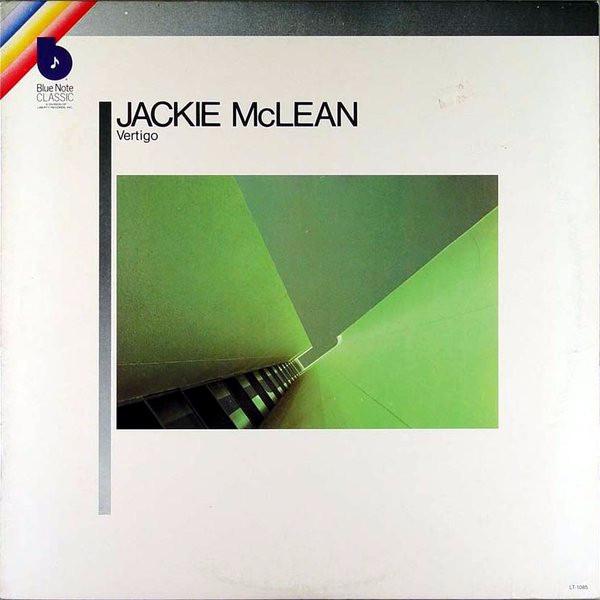 Griffith's design for Jackie McLean's  Vertigo  (Blue Note LT-1085)