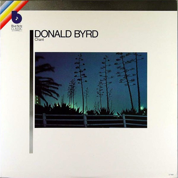 Griffith's design for Donald Byrd's  Chant  (Blue Note LT-991)