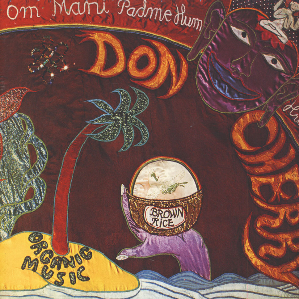 Front cover of Don Cherry's  Brown Rice  album, 1975
