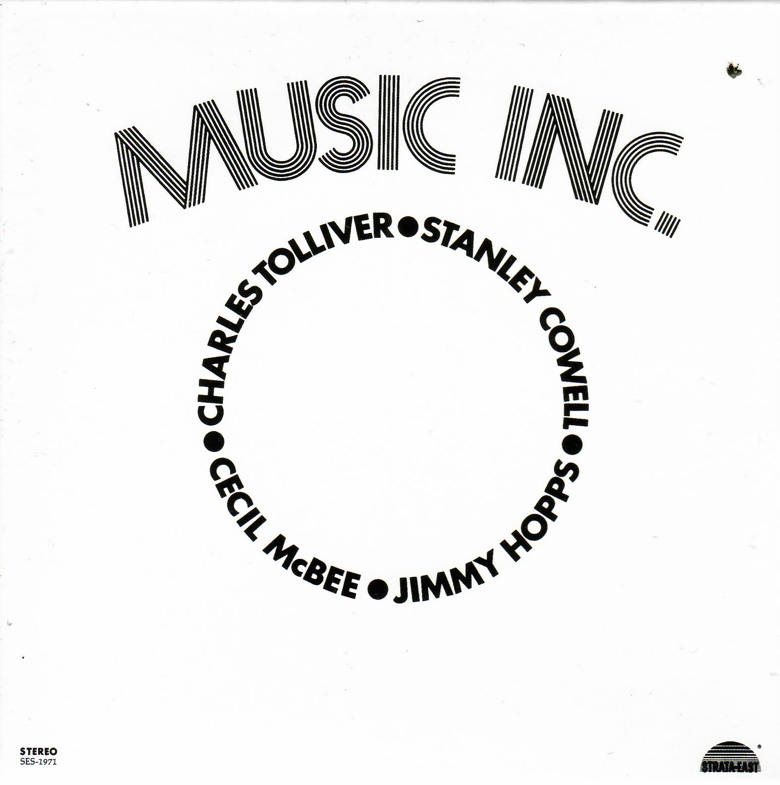 The album that started it all:  Music Inc.  | Strata-East Records, 1971