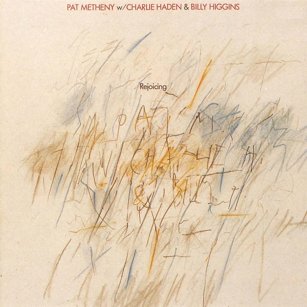 Barbara Wojirsch's design for Pat Metheny's  Rejoicing  (1984)