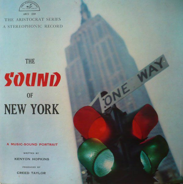 Turner's portfolio of images during his time in the army consisted of many New York City street scenes, including this picture that initially drew the eye of Creed Taylor for the cover for  The Sound of New York: A Music-Sound Portrait , 1959 (ABC-Paramount).