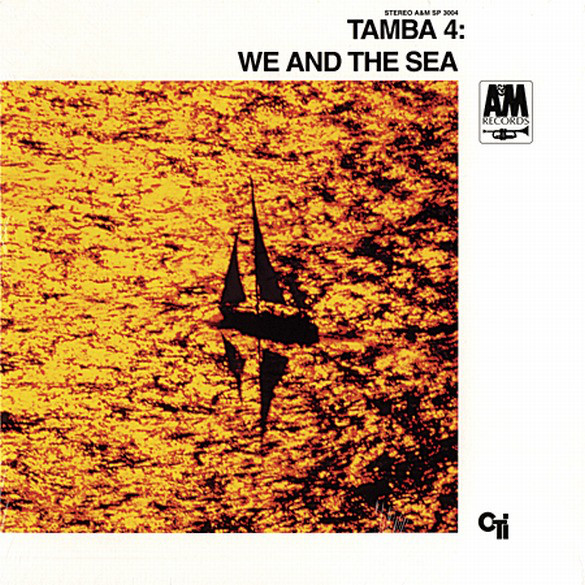 Turner's image used for Tamba 4's  We and the Sea  (1968, A&M Records).