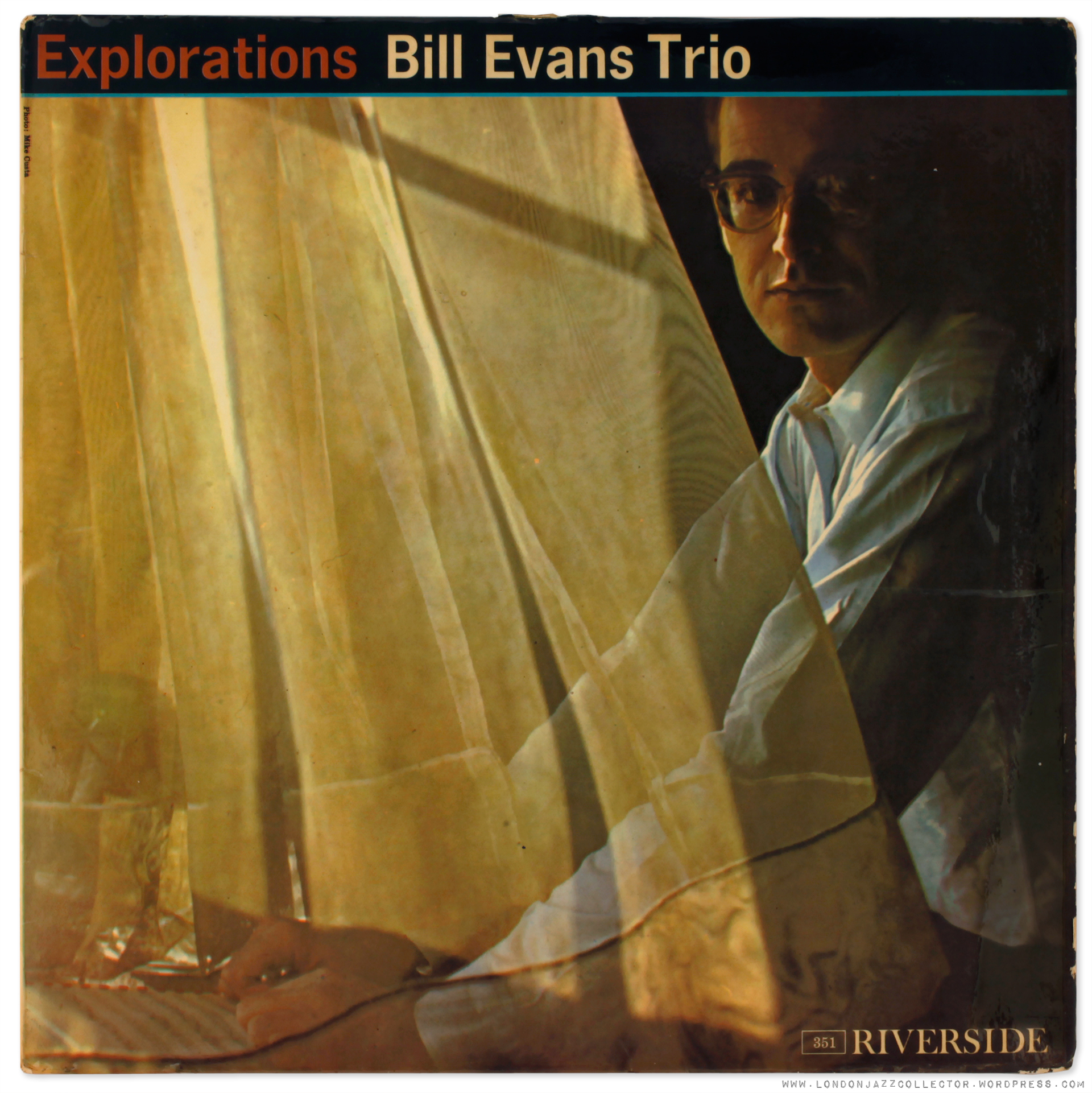The original cover of  Explorations  featuring a photograph by Steve Schapiro.