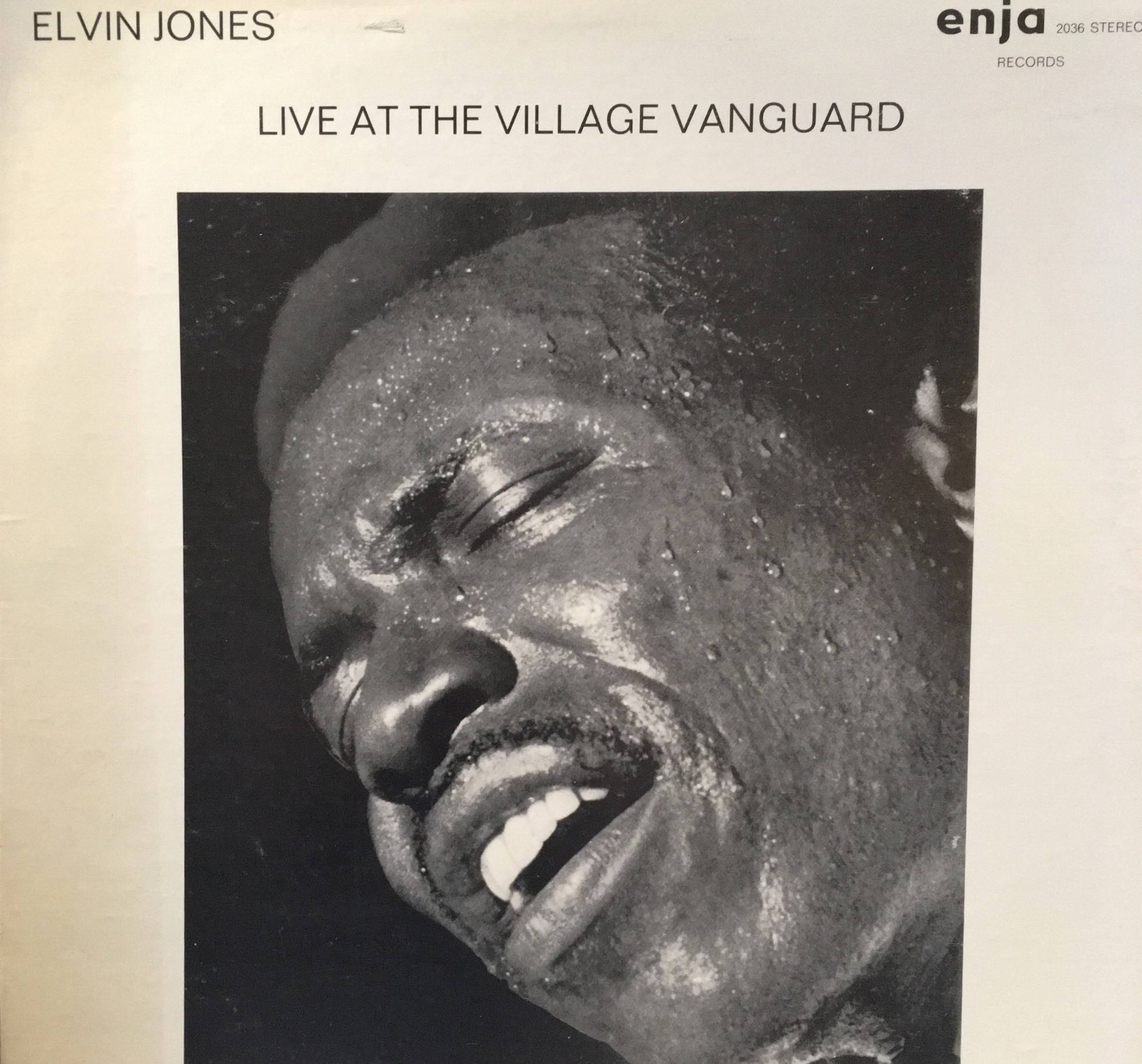 Elvin Jones Live at the Village Vanguard , Enja Records, recorded 1968, released 1974