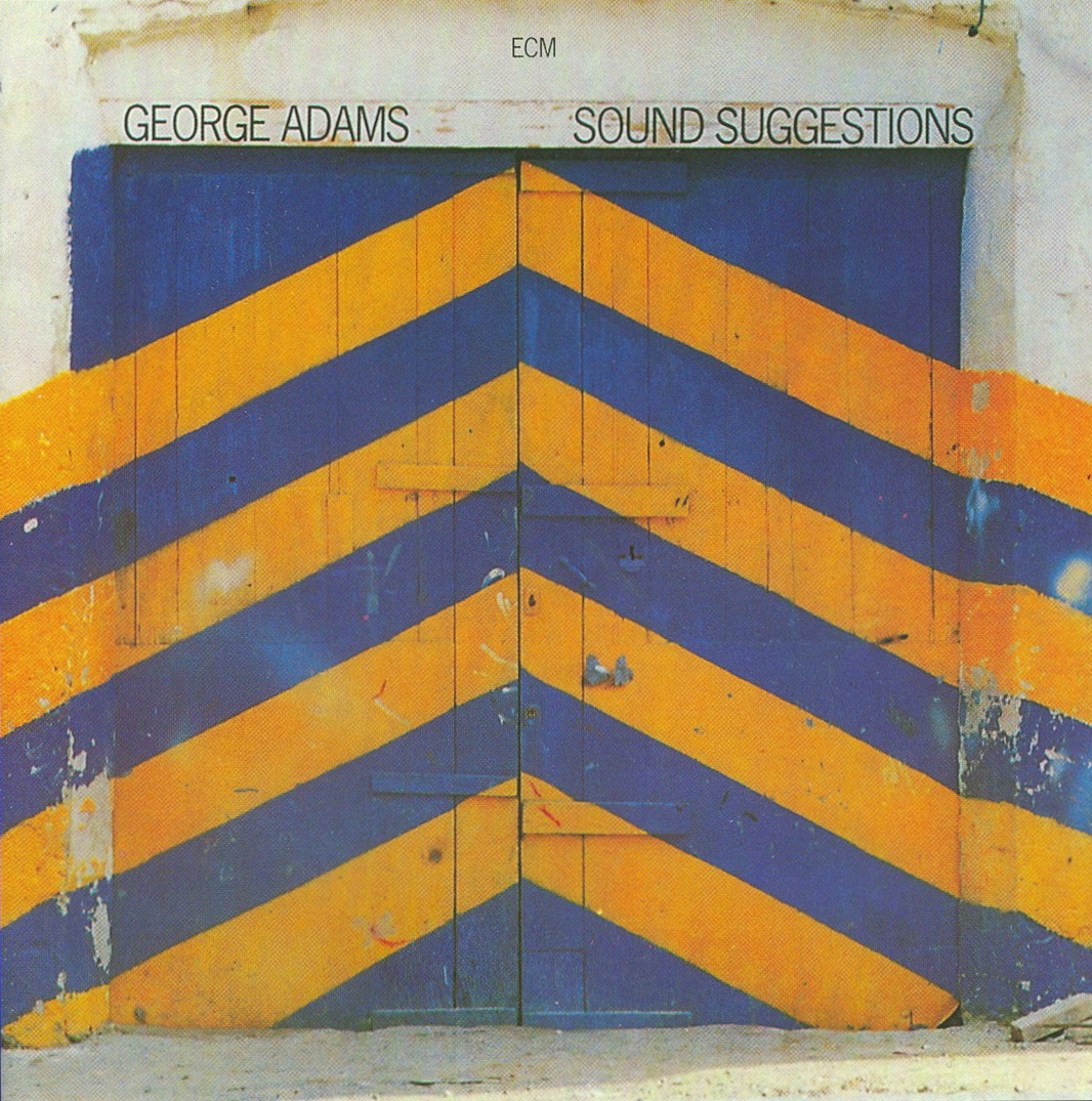 Frieder Grindler's cover for George Adams,  Sound Suggestions , ECM Records, 1979, sourced at Admiral Analog's Audio Assortment in Shepherdstown, West Virginia.