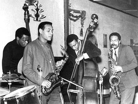 Henry Grimes, Jimmy Lyons, Lewis Worrell, Albert Ayler at Slugs' mid-1960s