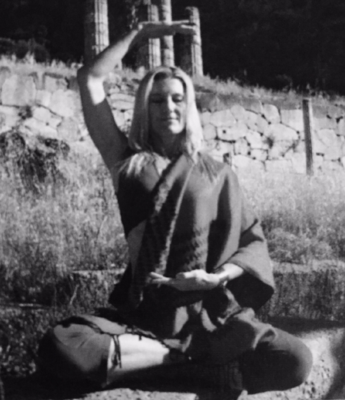 Shiva Rea in Soma Mudra from her book: Tending the Heart Fire