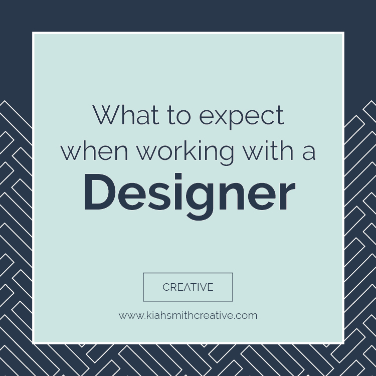 what to expect when working with a designer
