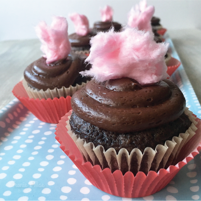 Simple Cherry Chocolate Cupcake Recipe by Fronie Mae Bakes